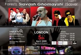 Siavash Ghomayshi, Farez and Sasver