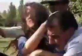 کتک زدن دختر ۱۵ ساله در تهرانپارس و تماس بدنی مامور نیروی انتظامی تهران با وی به جرم