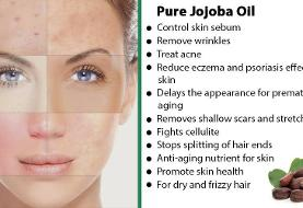 خواص روغن جوجوبا برای پوست و مو و زیبایی