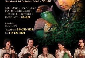 Homay & Mastan Concert in Montreal
