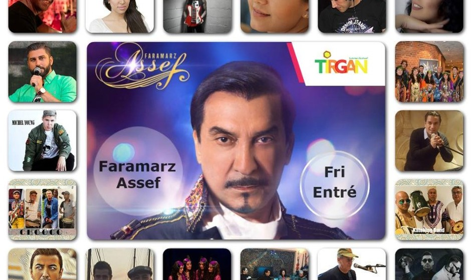 Tirgan Festival in Sweden with Faramarz Assef