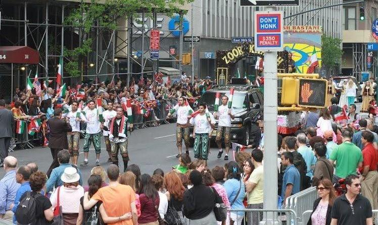 Persian Parade 2019 in New York
