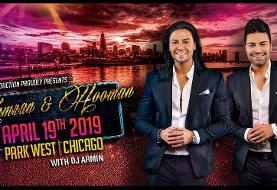Kamran & Hooman Live in Chicago For All Ages + Special Hotel Package