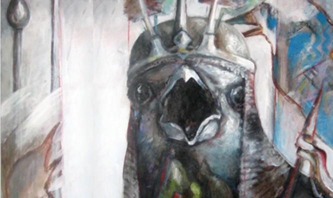 نقاشی و کلاژهای جدید مختار پاکی