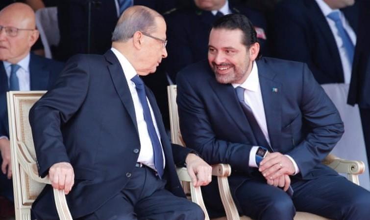 حریری پس از بازگشت به لبنان موقتا از استعفا دست کشید/ عکس در جمع هواداران خود در بیروت