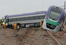 برخورد کامیون با قطار مسافری در مسیر مشهد-ساری در نیشابور تلفات نداشت