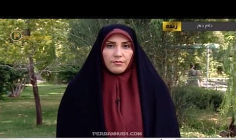 Veiled Iranian TV host faints due to heat exhaustion (video)