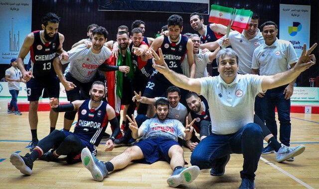 نمایندگان بسکتبال ایران قهرمان و نایب قهرمان غرب آسیا شدند