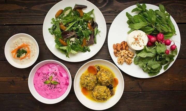 Seti's Table: Persian Spring Series