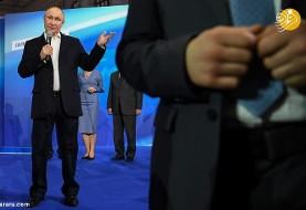 پوتین بدون ناوالنی و رقیب جدی ۷۵% رای آورد و باز رئیس جمهور شد