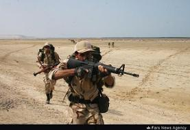 جان باختن مامور نیروی انتظامی درسیستان و بلوچستان در درگیری مسلحانه