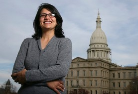 Backlash Against Trump - Netanyahu? Palestinian American Poised to Become the First Ever Muslim Woman in US Congress