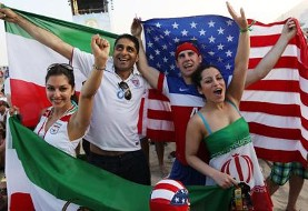 Iranian World Cup Fans in Pictures