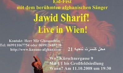 جشن عید و کنسرت جاوید شریف در وین