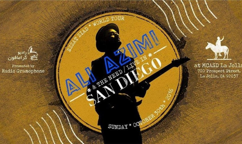 Ali Azimi and The Need Concert in San Diego: Ezzat Ziad World Tour