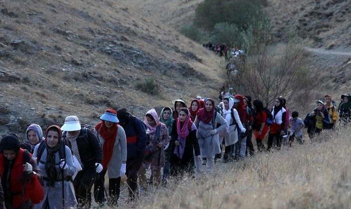 هیات کوهنوردی استان خراسان: زنان برای شرکت در برنامه های طبیعت گردی باید از همسر یا پدر خود اجازه داشته باشند
