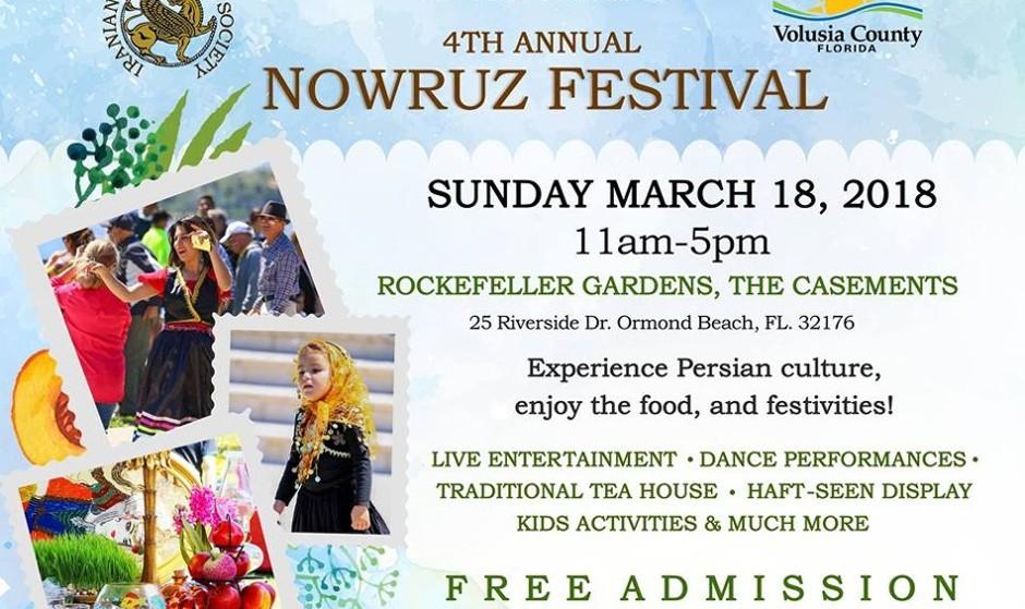 Fourth Annual Nowruz Festival, Free Admission