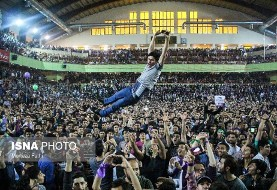 In Pictures: Rohani's fans celebrate victory despite pressures