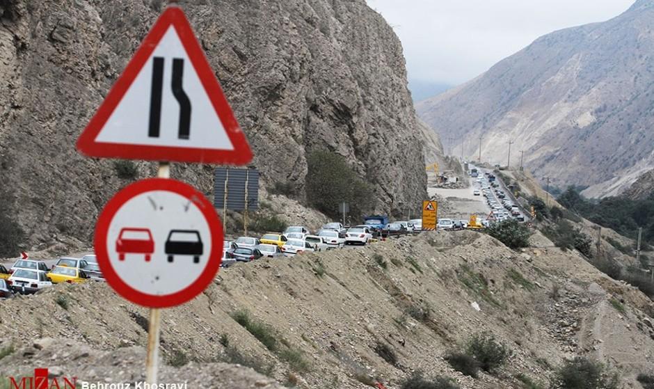 نوروز شد و تهران خالی و پاک: ترافیک سنگین در جادههای شمال