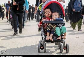 بیش از ۷۰ هزار کودک کمتر از پنج سال برای راهپیمایی اربعین از کشور خارج شدند