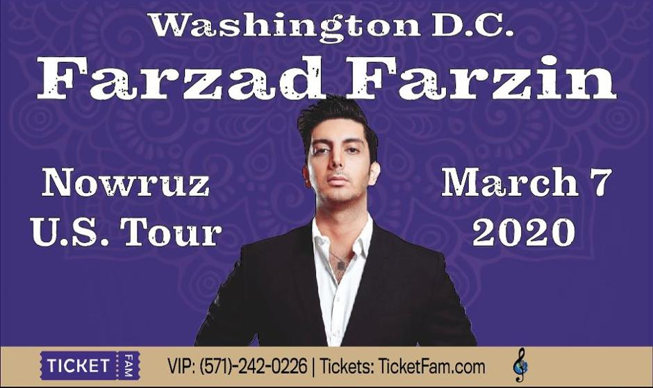 Farzad Farzin Concert in Washington, DC