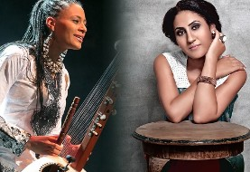 Aynur: Kurdish Folk Songs, with Sona Jobarteh: Live Performance at Global Roots Festival ۲۰۱۸