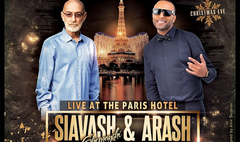 Las Vegas Concerts with Siavash Ghomayshi and Arash