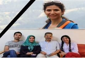 دختر جوان عبدالفتاح سلطانی، وکیل مدافع حقوق بشر که هفت سال از حبس وی می گذرد، بر اثر سکته قلبی درگذشت