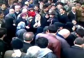 پخش فحش به هاشمی رفسنجانی در تلویزیون ایران