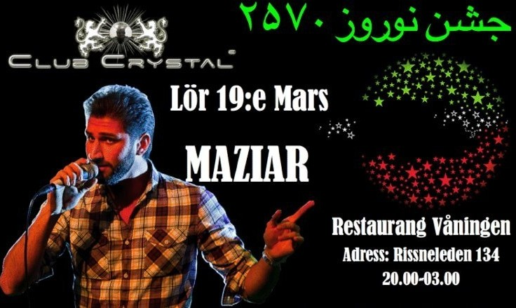 Nowruz Party (Persian Spring Festival) with Maziar