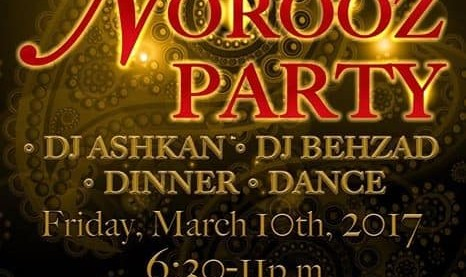 2nd Annual Norooz Party