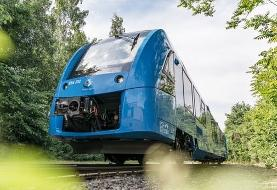 نخستین قطار هیدروژنی جهان وارد شبکه حمل و نقل آلمان شد