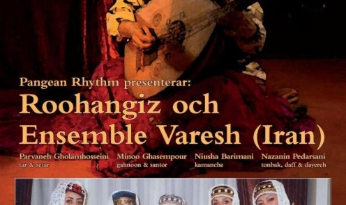 Roohangiz Och with Varesh Ensemble in Concert