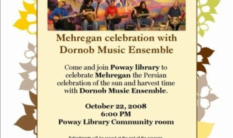 Mehregan Celebration with Dornob Music Ensemble
