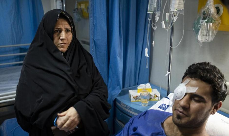 تصاویر مجروحان حوادث اخیر تهران