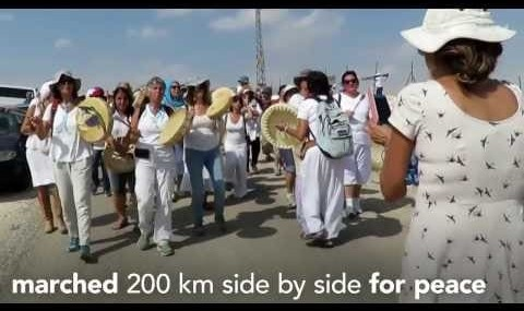 Israeli, Palestinian Women Unite For Peace in The March of Hope ...