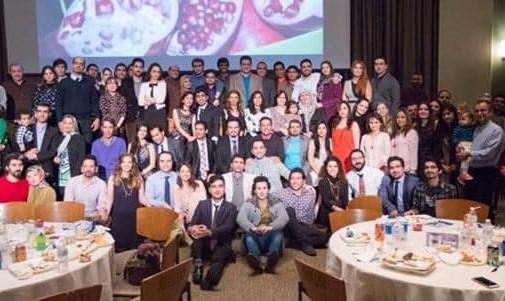 جلسه آشنایی با دانشجویان جدید ایریانی