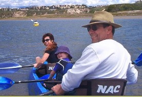 Fun Day Kayaking in Newport Back Bay