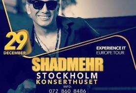 کنسرت شادمهر عقیلی در سوئد - استکهلم