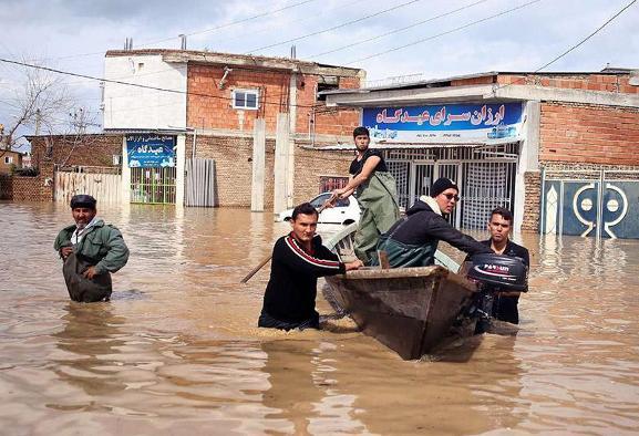 دو سوم برخی شهرهای شمال زیر آب است! استاندار همیشه غایب برکنار شد