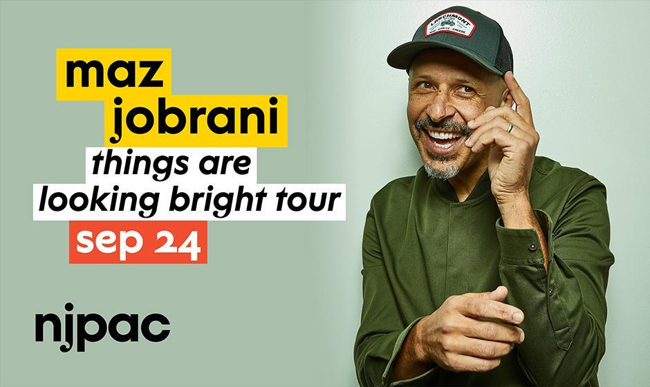 Maz Jobrani, Live in New Jersey: Things are Looking Bright Tour