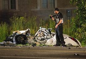 جوان ایرانی ۱۹ ساله ثروتمند و مست عامل تصادف مرگبار کم سابقه تورونتو بود؟!