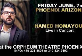 Hamed Homayoun Live in Phoenix