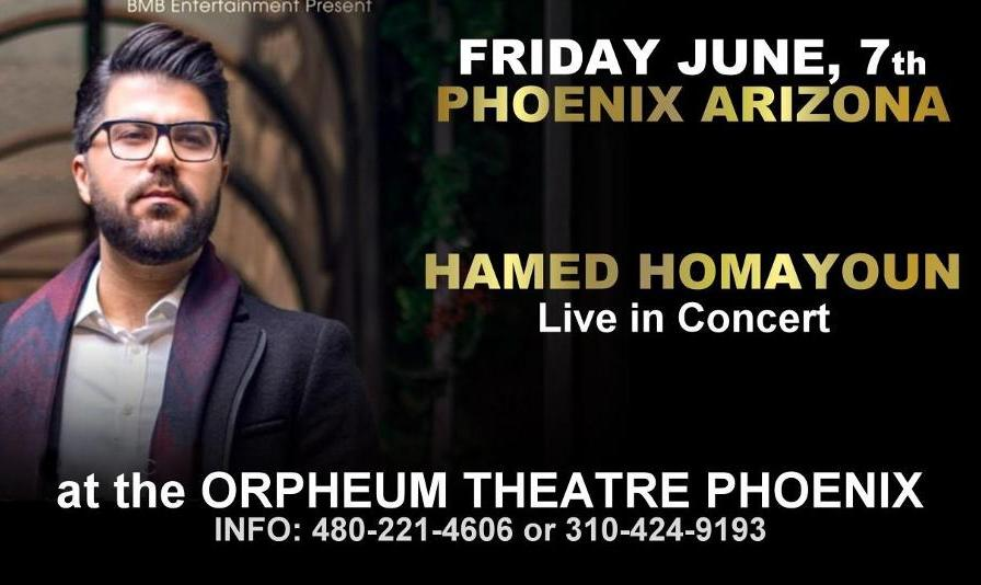 Hamed Homayoun Live in Phoenix