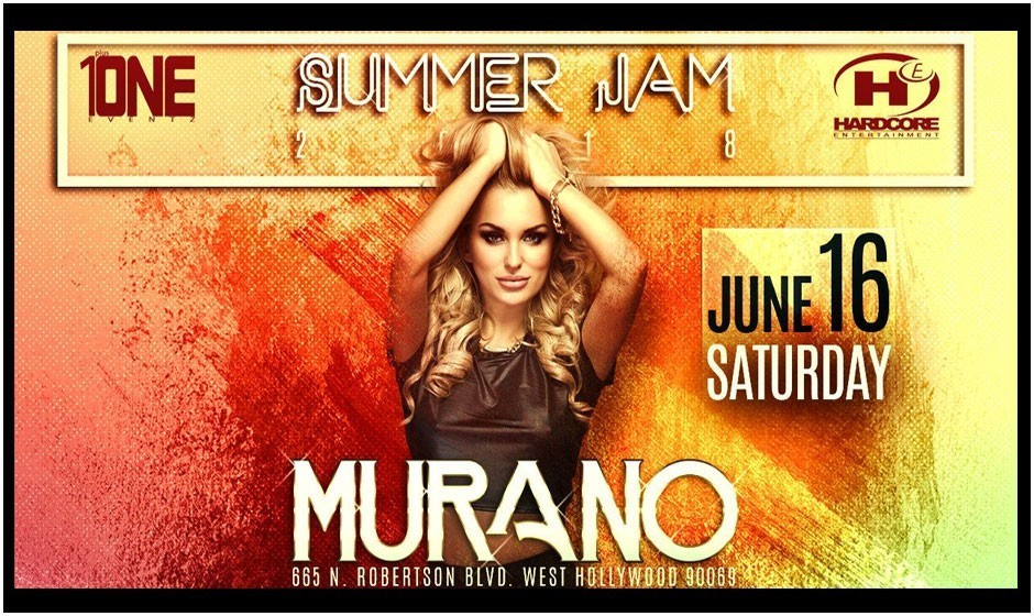 Persian Summer Jam at Murano Nightclub: 10% OFF This Week ONLY