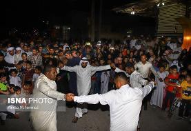تصاویر رقص عربی برای میلاد امام حسن در خوزستان