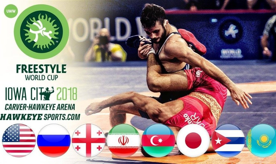 Watch Iran and US in Freestyle World Cup 2018, Iowa City