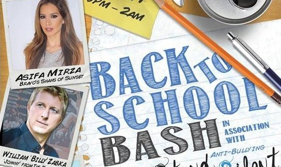 Back to school bash Asifa Mirza (Shahs of Sunset star) host