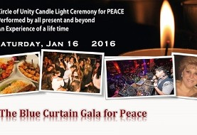 The Blue Curtain Gala for Peace: Candle Light, Arts, Music and Dance