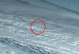انفجار کمسابقه یک شهابسنگ بزرگ بر فراز دریا: ظهر روز ۱۸ دسامبر این شهابسنگ با زاویه تند هفت درجه وارد جو زمین شد